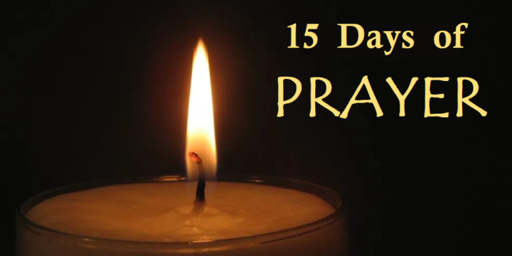 15 Days of Prayer